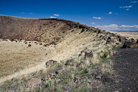 East Twin Maar in Diamond Craters Outstanding Natural Area
