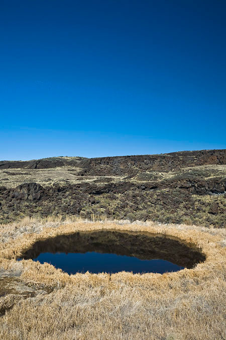 Malheur Maar in Diamond Craters Outstanding Natural Area