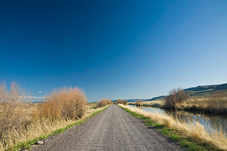 Center Patrol Road in Malheur National Wildlife Refuge, Oregon