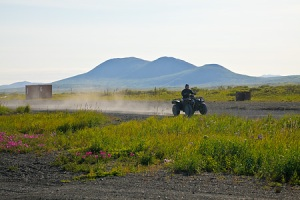 ATV in Togiak, Alaska
