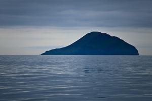 Round Island in distance, Alaska