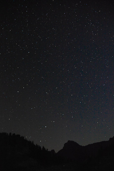 Big Dipper and North Star, Mt. Baker Wilderness