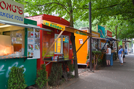 Food Trucks Hawthorne Portland
