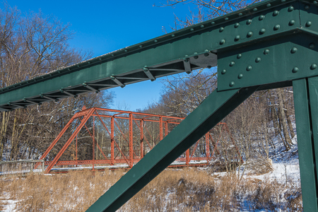 Bridges at Historic Bridge Park in Calhoun County near Battle Cr