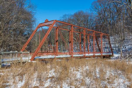 Gale Road Bridge in Historic Bridge Park, Calhoun County, MI