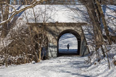 Dixon's Bridge in Historic Bridge Park, Calhoun County, MI