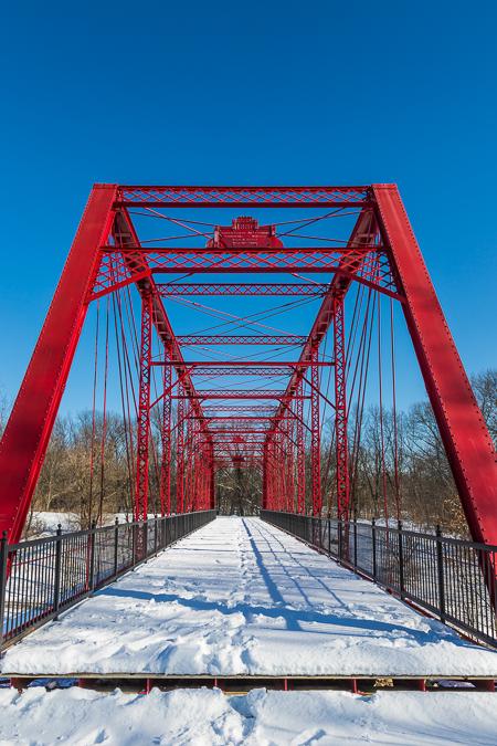 Charlotte Highway Bridge in Historic Bridge Park, Calhoun County