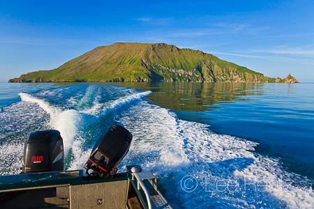 Leaving Round Island, Alaska