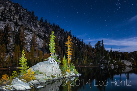 The Enchantments, Okanogan–Wenatchee National Forest, Washington State, USA