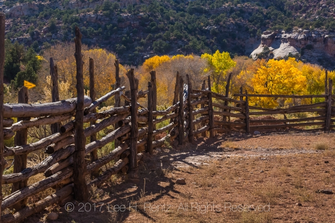 Corral for Cattle In Indian Creek National Monument