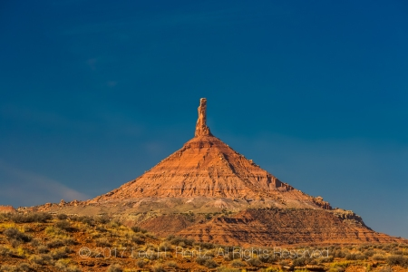 North Six Shooter Peak In Indian Creek National Monument