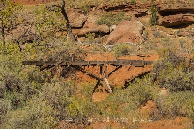 Uranium Mining Installation in Indian Creek National Monument