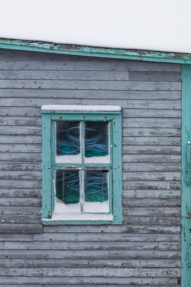 FIshing Stage in Francois Outport in Newfoundland