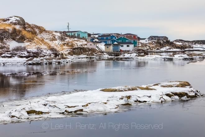 View of Bay In Burgeo, Newfoundland