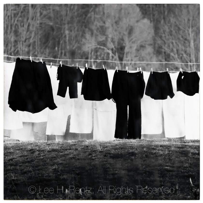Amish Clothesline in Central Michigan